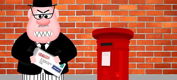Ian Spectre with post box