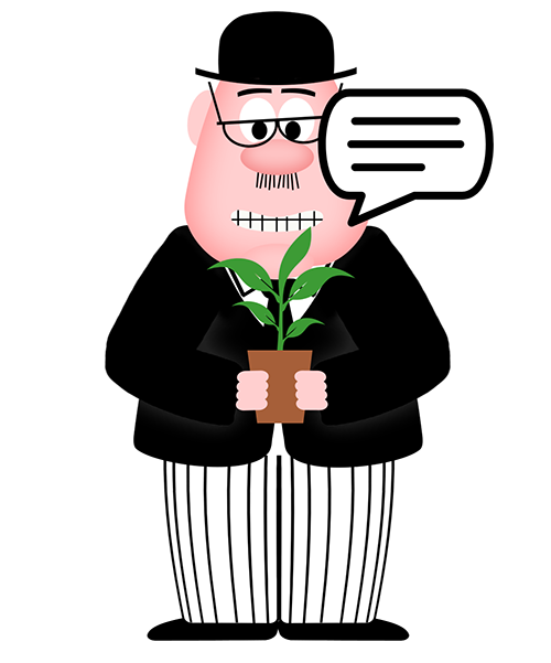 Spectre talking to a plant