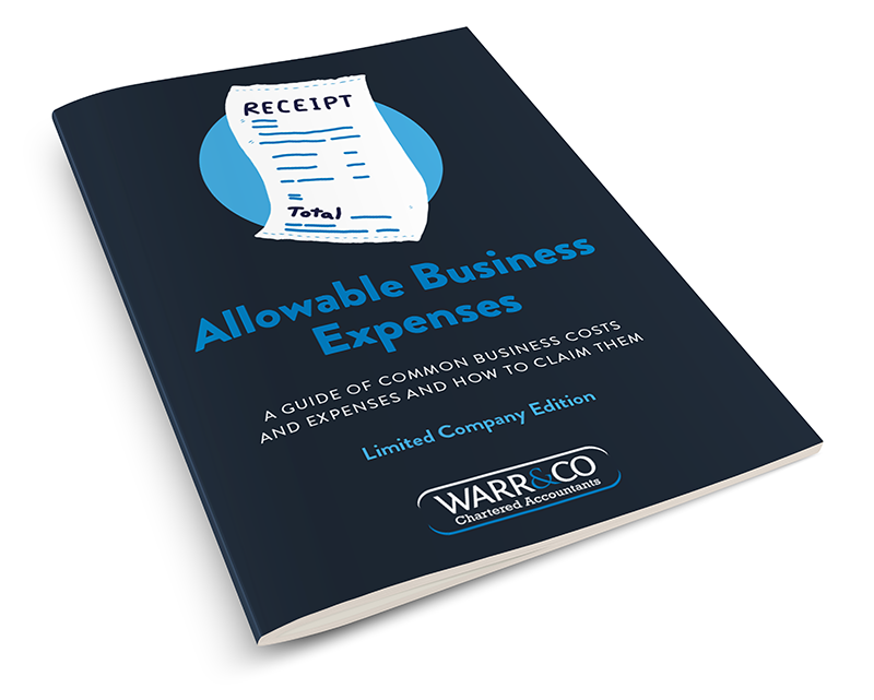 3d illustration of the Allowable Expenses Guide