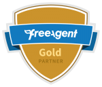 FreeAgent Gold Partner badge