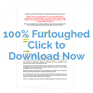 100% furloughed letter template