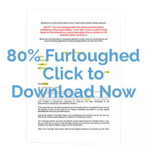 80% furloughed letter template