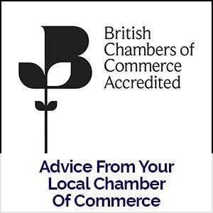 British Chambers Of Commerce logo linking to local coronavirus advice