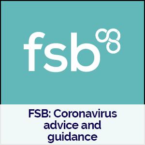 FSB logo linking to their coronavirus advice page