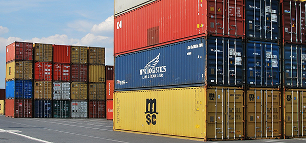import export shipping yard